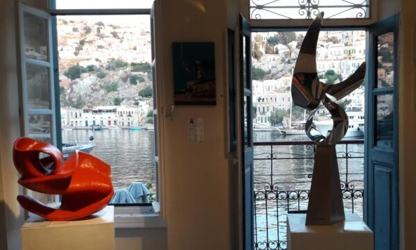 Summer exhibition, LOS / ARTFORUM GALLERY, Symi