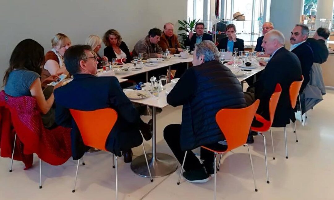 1st Meeting of the Art Thessaloniki Fair Honorary Organizing Committee